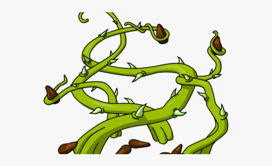 Thorn clipart graphic freeuse Thorns Clipart Cartoon - Thorn Bush Clipart, Cliparts ... graphic freeuse