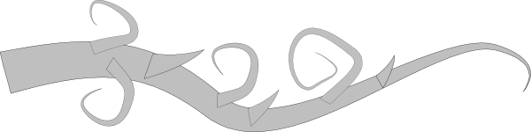Thorn vine clipart png download Thorny Vines Clip Art at Clker.com - vector clip art online ... png download