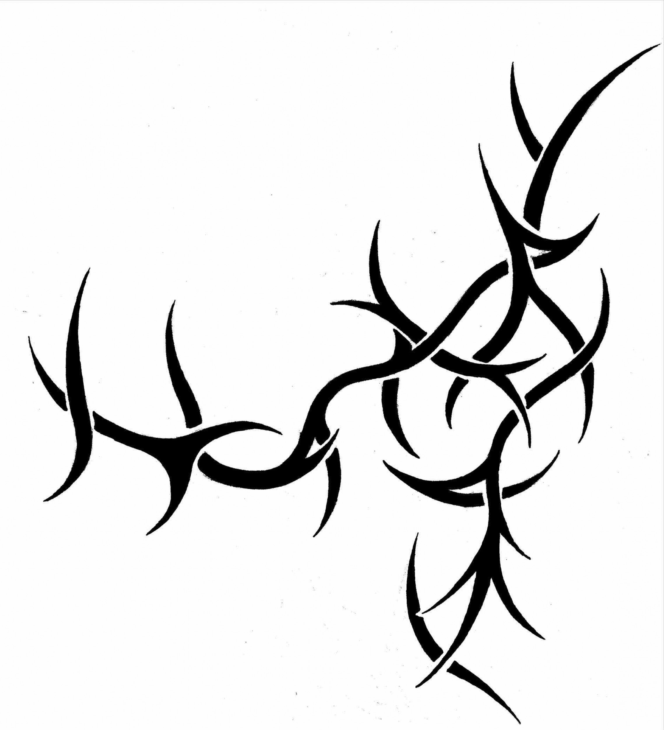 Thorn vine clipart image library library Thorn Vine Drawing at PaintingValley.com | Explore ... image library library