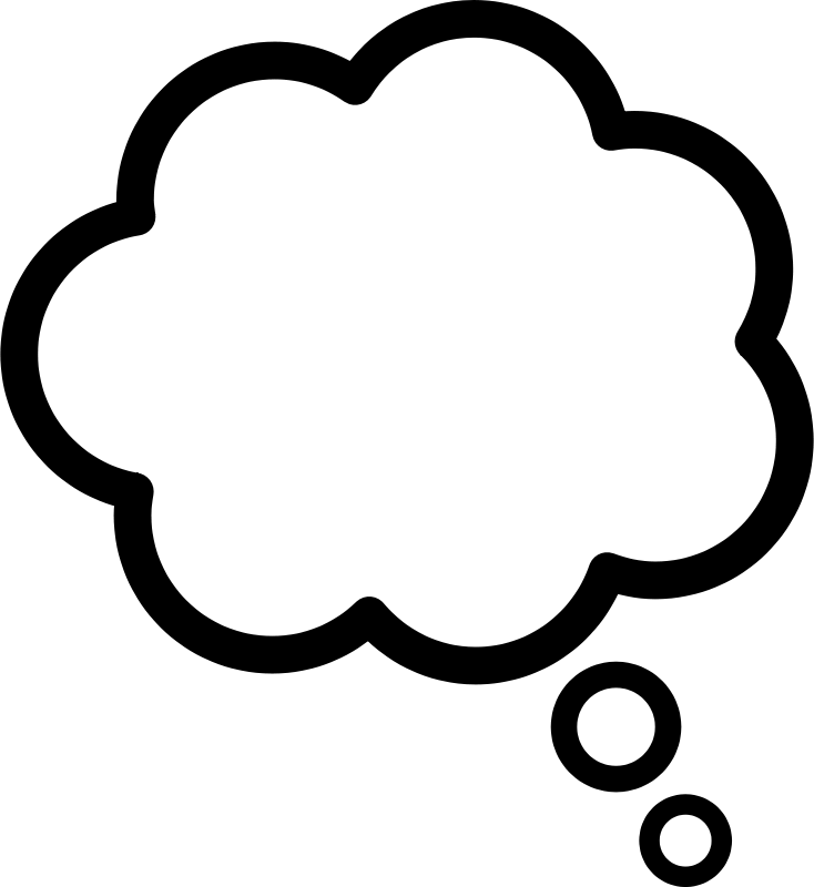 Thought clipart image freeuse download Free Clipart: Thought cloud | Anonymous image freeuse download