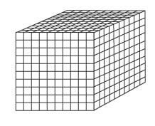Thousands block clipart