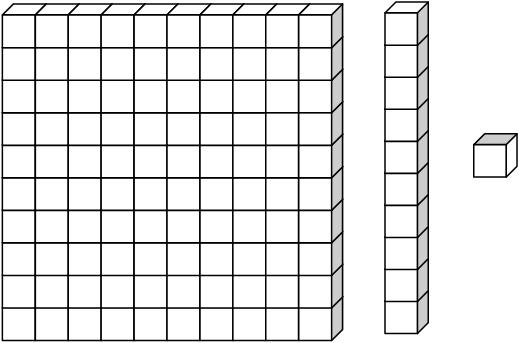 Thousands block clipart clipart black and white stock Place value blocks clip art - ClipartNinja clipart black and white stock