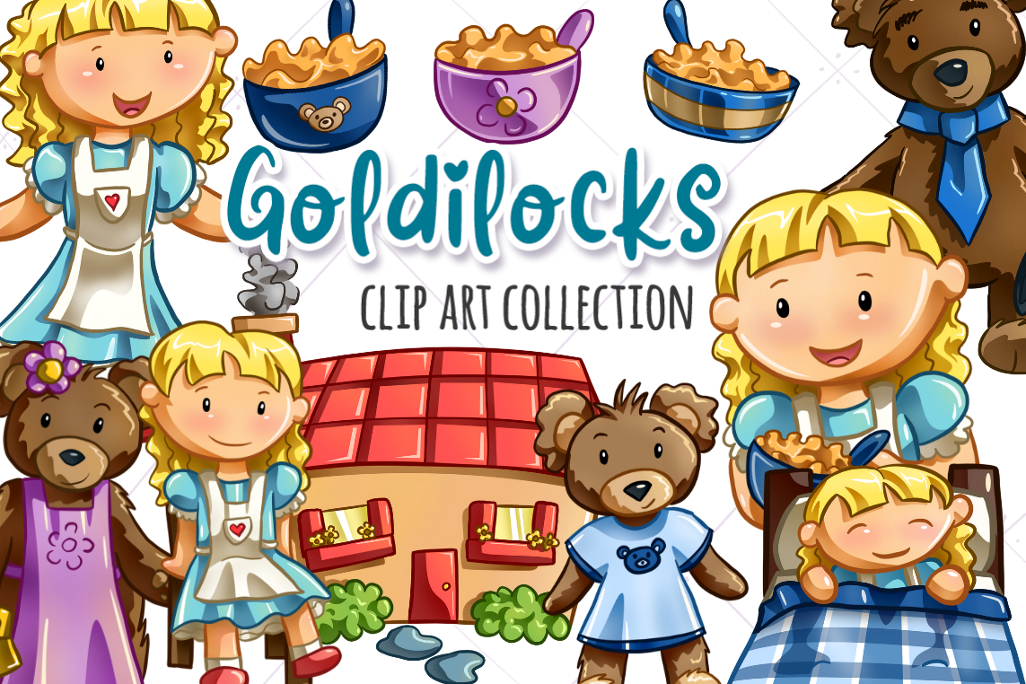 Three bears and goldilocks clipart picture download Goldilocks and the Three Bears picture download