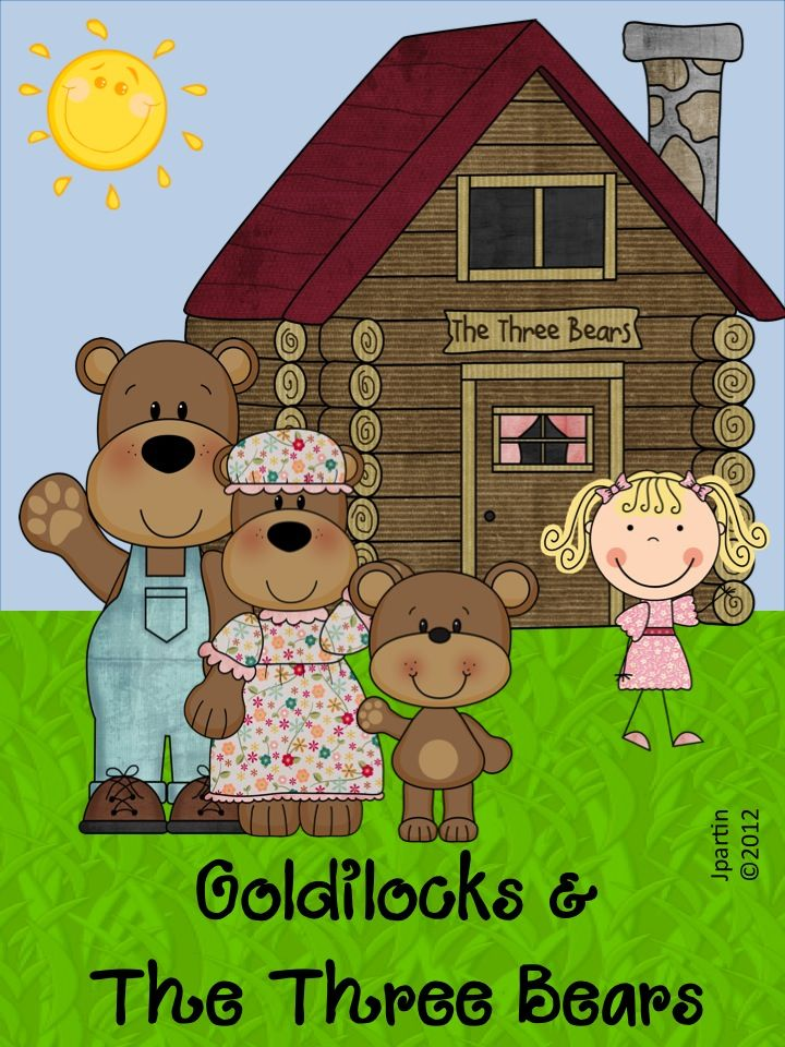 Three bears came home clipart png royalty free library Goldilocks and the Three Bears Word Wall game | Bears ... png royalty free library