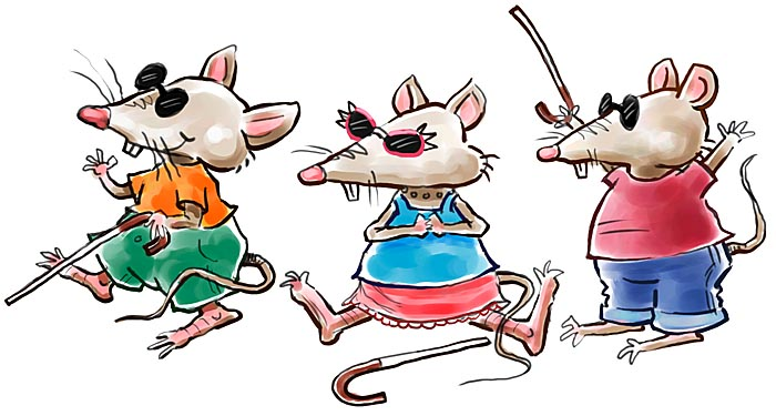 Three blind mice free clipart graphic transparent library Free Three Mice Cliparts, Download Free Clip Art, Free Clip ... graphic transparent library