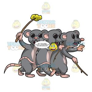 Three blind mice free clipart graphic download Three Blind Mice graphic download