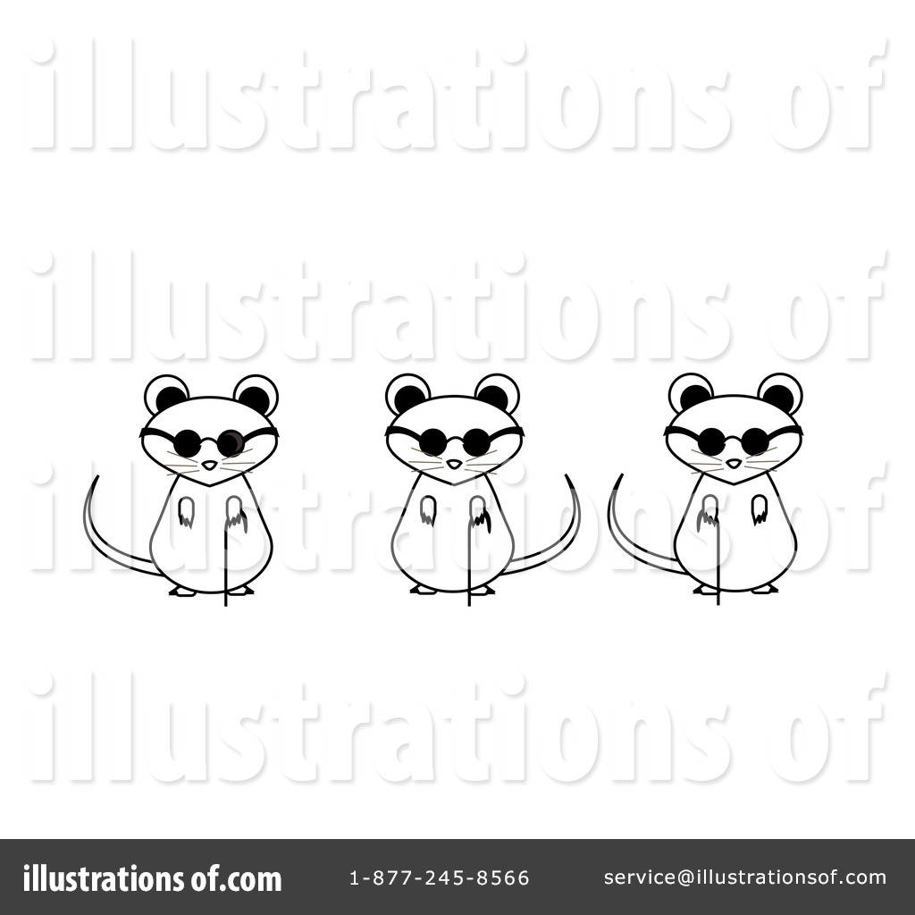 Three blind mice free clipart png royalty free download Blind Mice Clipart #82804 - Illustration by Pams Clipart png royalty free download