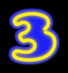 Three clipart clip free download Number Three Clip Art at Clker.com - vector clip art online ... clip free download
