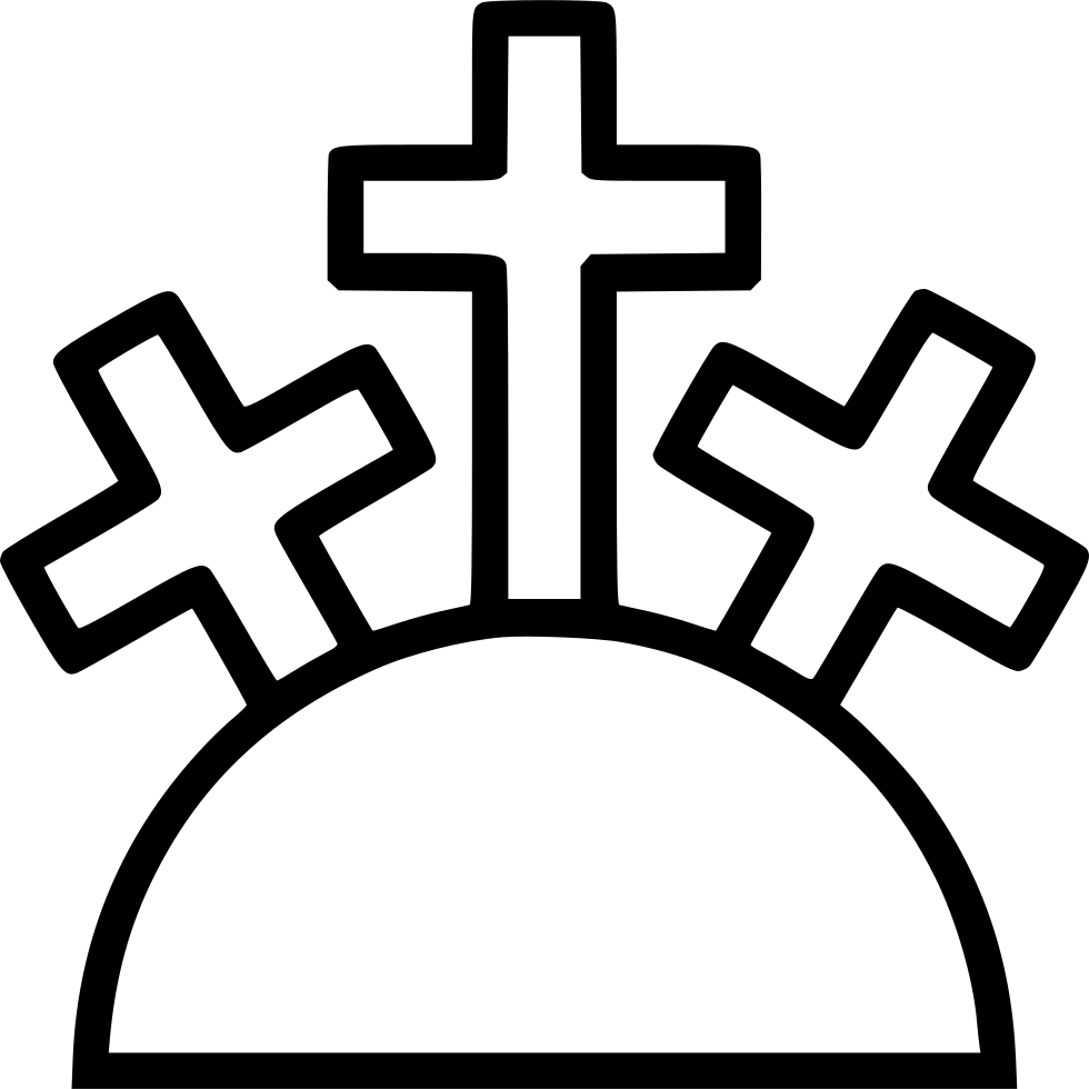 Three cross mountain clipart graphic free library Holy Mountain Svg Png Icon Free Download (#445426) - OnlineWebFonts.COM graphic free library
