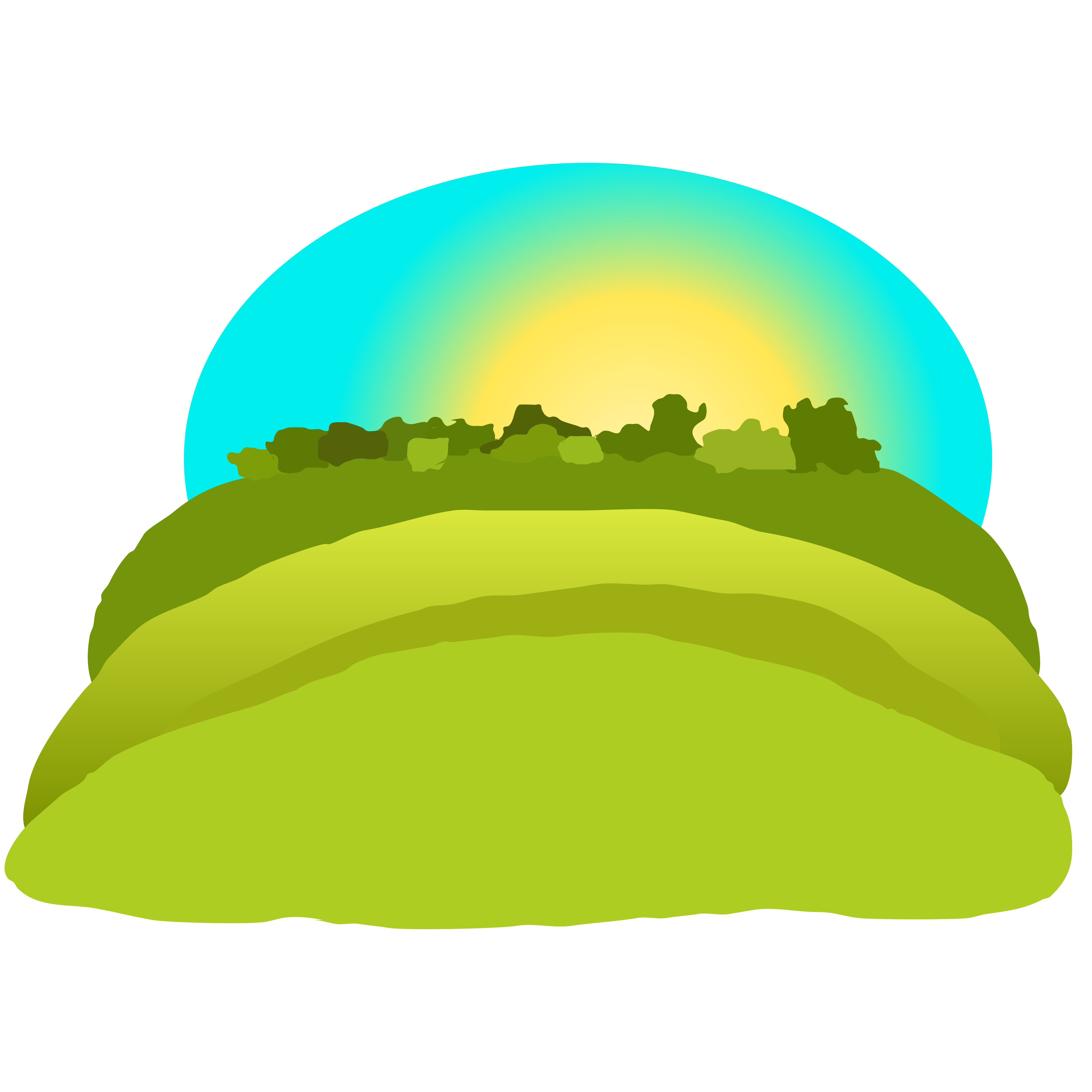 Three cross on hill clipart svg Hill Over · ClipartHot svg