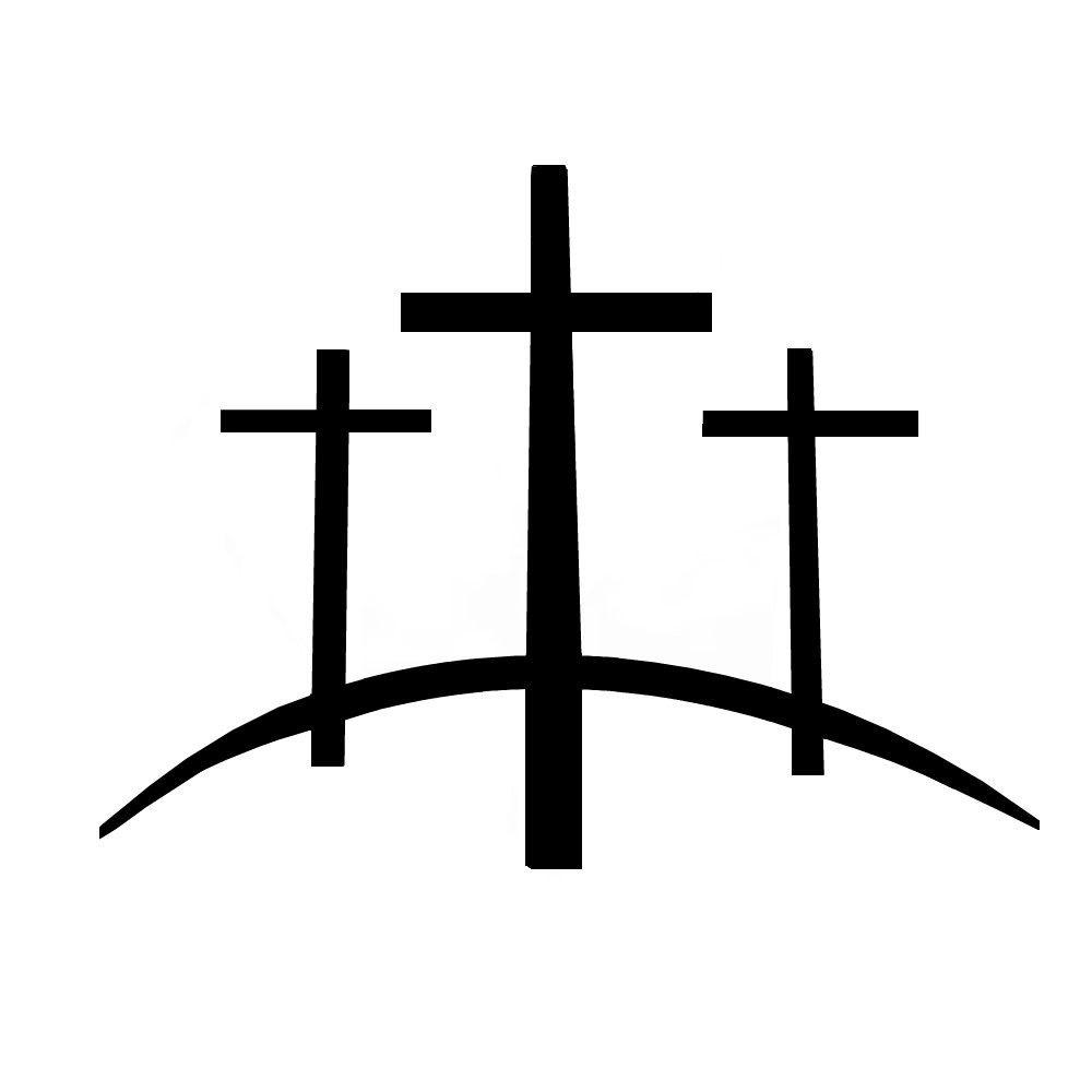 Three crosses clipart clipart royalty free stock 3-crosses | Lent | Cross tattoo designs, Christian cross ... clipart royalty free stock