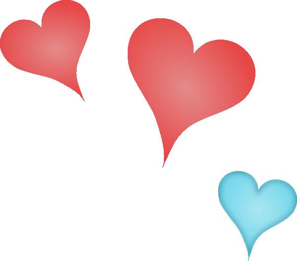 Three heart clipart clip Three Hearts Clip Art at Clker.com - vector clip art online, royalty ... clip