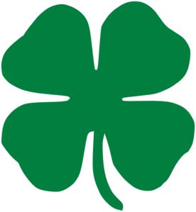 Three leaf clover meaning clipart svg stock Lia 03 GRAPHIC SYMBOL This is four-leaf clover. The four ... svg stock