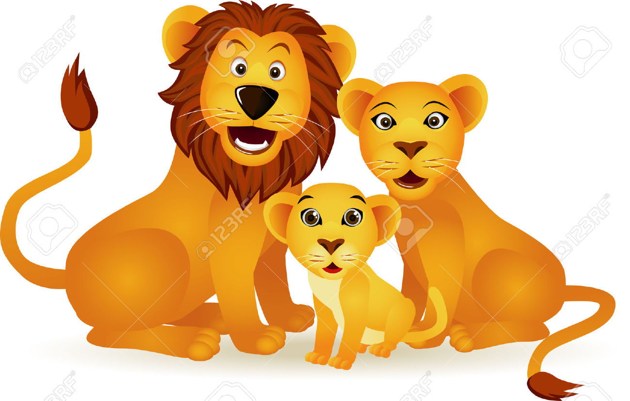 Three lions clipart banner royalty free library Silverfox & the Three Lions   My Storybook banner royalty free library