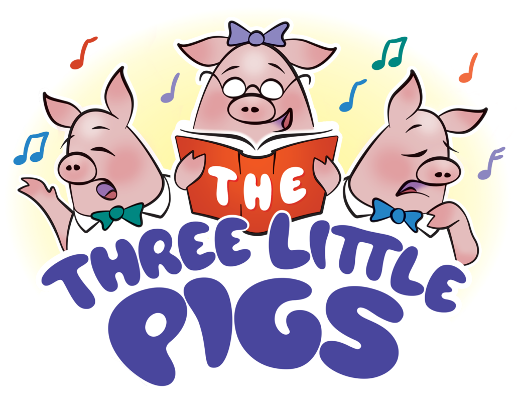 Three little pigs brick house clipart black and white clip freeuse Wildwood Park for the Arts | Art to Go! – Educational Tour clip freeuse