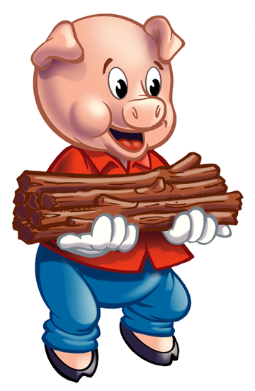 Three little pigs clipart png black and white library Free Three Little Pigs Clipart, Download Free Clip Art, Free ... png black and white library