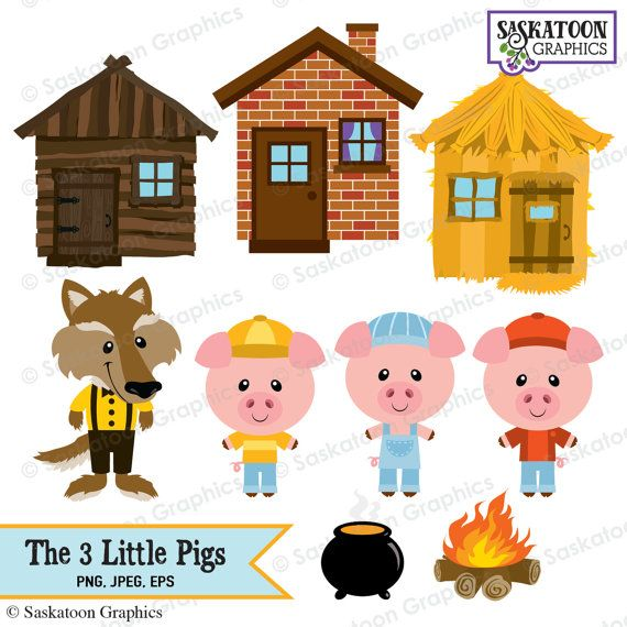 Three little pigs clipart free clip library 83+ Three Little Pigs Clipart | ClipartLook clip library