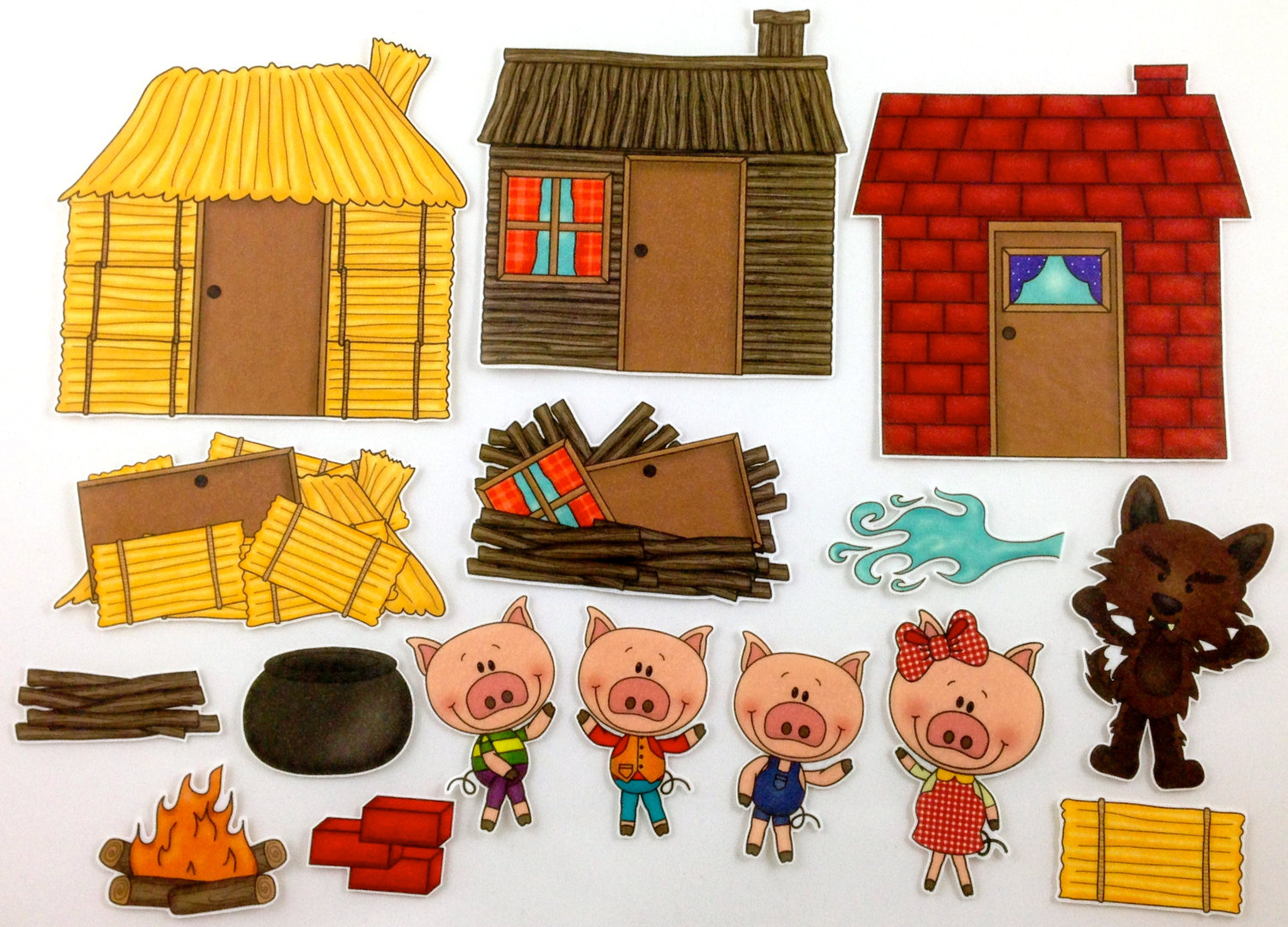Three little pigs clipart free vector transparent stock Free Three Little Pigs, Download Free Clip Art, Free Clip ... vector transparent stock