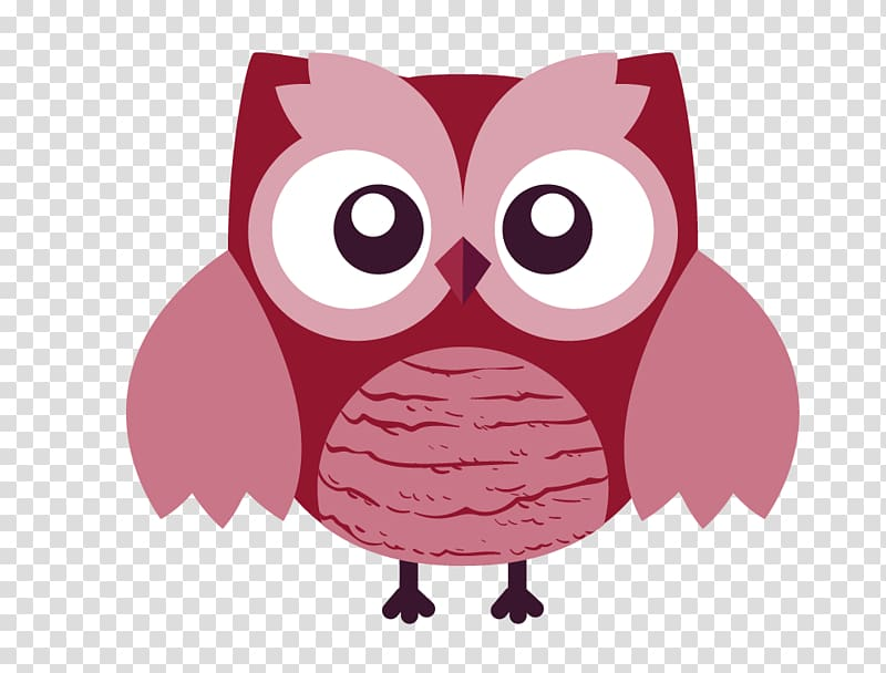 Three owls on a branch clipart cute clip black and white Red and pink owl , Owl T-shirt Cartoon, Cute owl transparent ... clip black and white