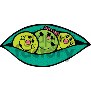 Three peas in a pod clipart transparent download vector cartoon three peas in a pod clipart. Royalty-free clipart # 405113 transparent download