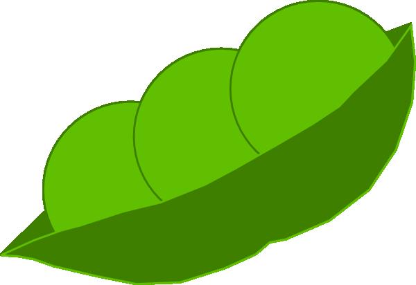 Pea in the pod clipart image black and white Peas In A Pod Clip Art at Clker.com - vector clip art online ... image black and white
