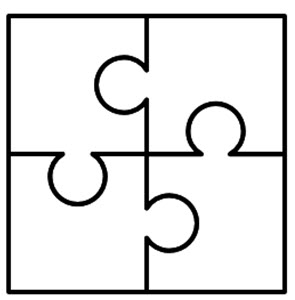 Three piece puzzle clipart image free library 5 Puzzle Pieces | Free download best 5 Puzzle Pieces on ... image free library