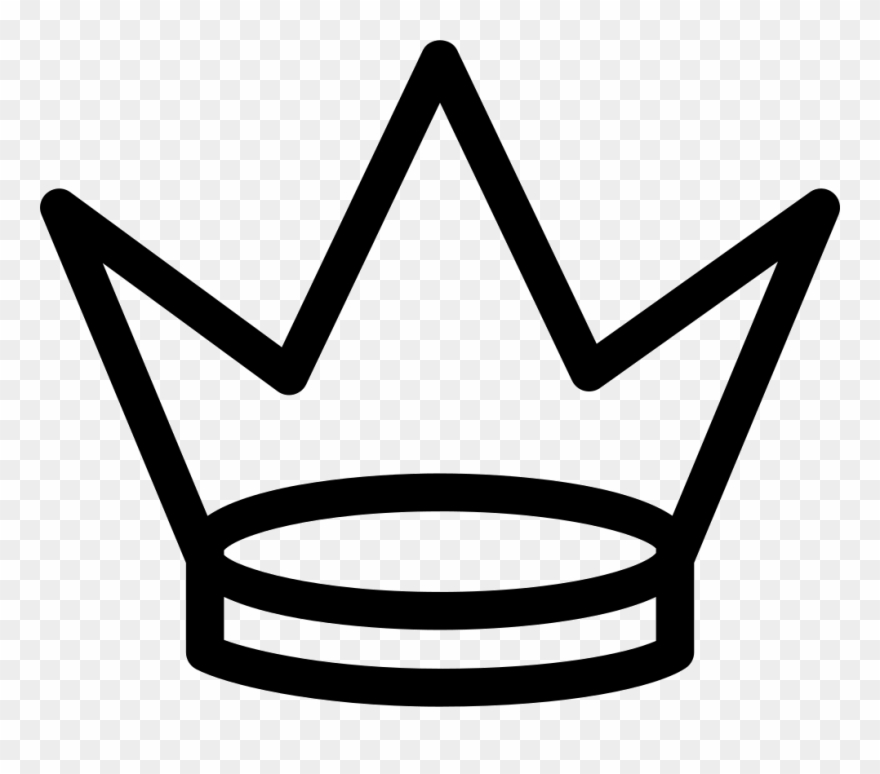 Three point crown clipart png royalty free download Royal Crown Of Three Points Svg Png Icon Free Download ... png royalty free download