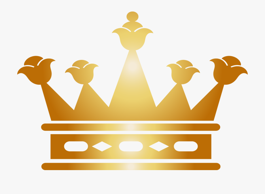 Three point crown clipart picture royalty free library Euclidean Vector Clip Art - Queen Crown In Golden, Cliparts ... picture royalty free library