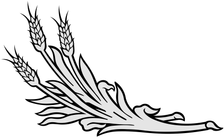 Three sprigs of whaeta clipart image freeuse 3702 – MemorialDESIGNER image freeuse