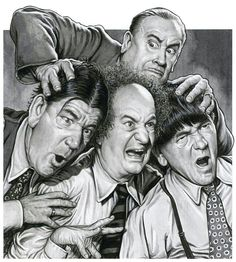 Three stooges clipart graphic royalty free library 145 Best THE THREE STOOGES... images in 2016 | The three ... graphic royalty free library