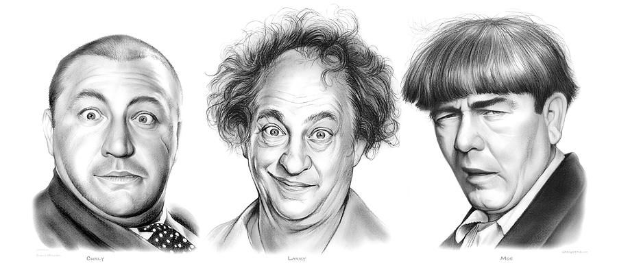 Three stooges clipart svg transparent library Three Stooges Cliparts 9 - 900 X 391 - Making-The-Web.com svg transparent library