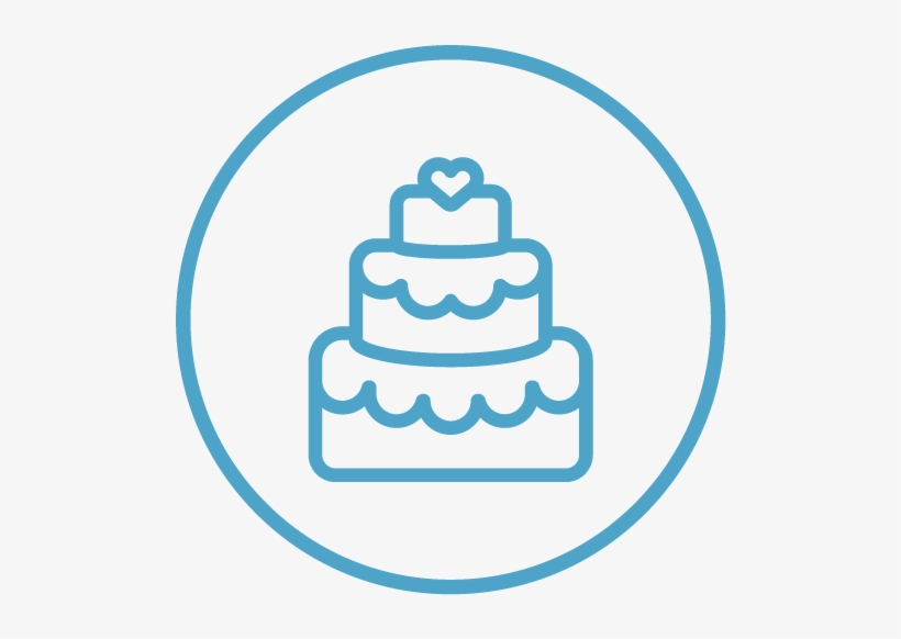 Three tier cake clipart black and white vector Wedding Icon - Wedding Cake Clipart Black And White ... vector