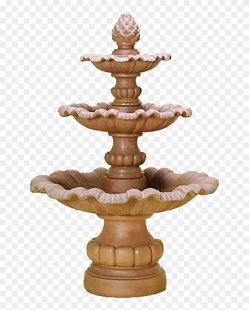 Three tiered fountain clipart vector library The Garda Three Tier Outdoor Water Fountain Features ... vector library