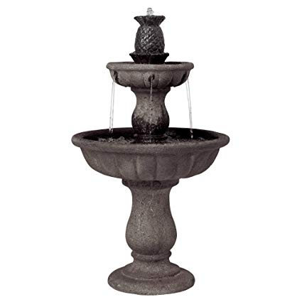 Three tiered fountain clipart picture royalty free John Timberland Italian Classic Two Tier Outdoor Floor Water Fountain 37\