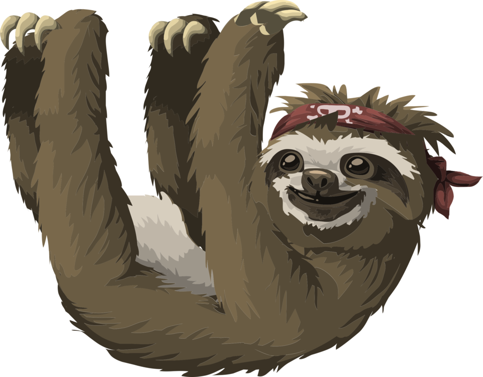 Three toed sloth clipart kids transparent download Sloth,Fur,Carnivoran Clipart - Royalty Free SVG ... transparent download