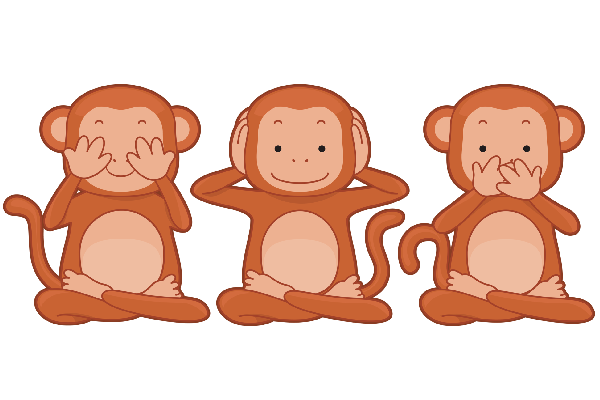 Wise monkey clipart png freeuse download Three Wise Monkey\'s - Monkey Images png freeuse download