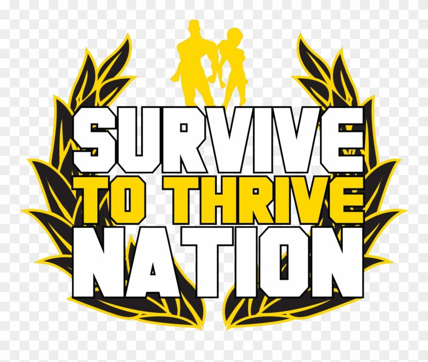 Thrive logo clipart svg transparent Survive To Thrive Nation - Illustration Clipart (#2020749 ... svg transparent