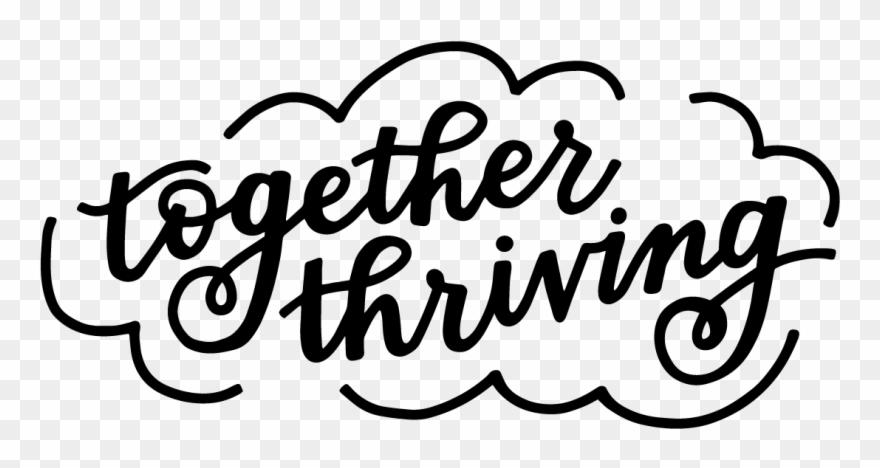 Thrive logo clipart jpg transparent Together Thriving Logo Clipart (#534157) - PinClipart jpg transparent