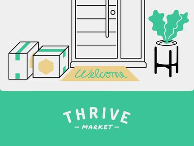 Thrive market logo clipart jpg free Patrick Mahoney / Projects / Thrive Market Illustrations ... jpg free