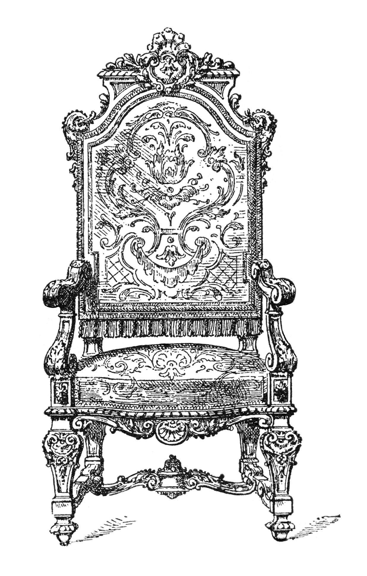 Throne clipart black and white svg black and white download Free Throne Cliparts, Download Free Clip Art, Free Clip Art ... svg black and white download