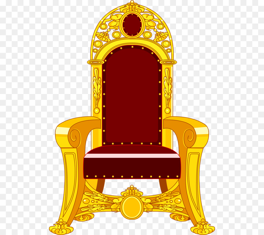 King throne clipart clipart freeuse Yellow Background clipart - Throne, transparent clip art clipart freeuse
