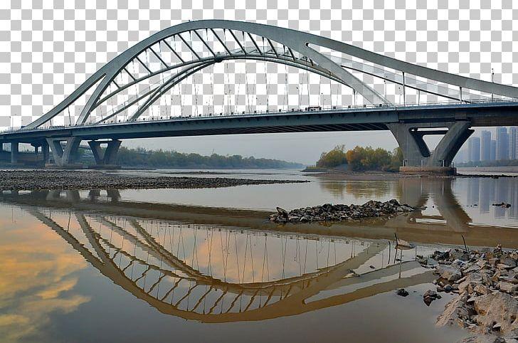Through arch bridge clipart vector transparent download Lanzhou Yellow River Yangtze Arch Bridge PNG, Clipart ... vector transparent download