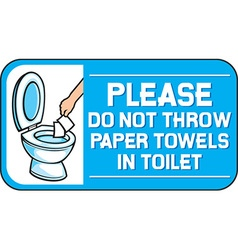 Throw away paper towel clipart png transparent No Throw in Toilet Vector Images (98) png transparent