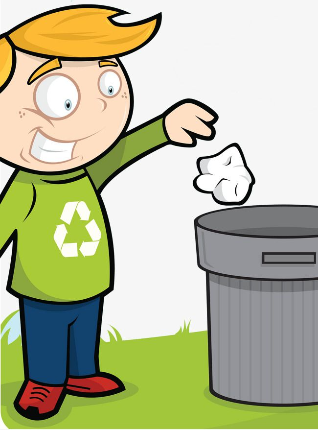 Trash around trash can clipart png free Throwing Trash Cans Good Habits, Throw Something, Good ... png free