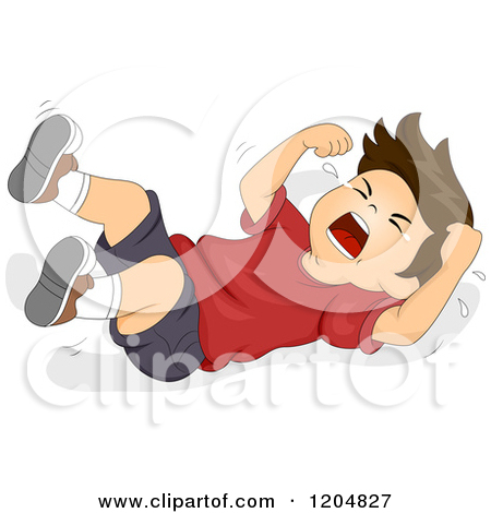 Throwing a fit clipart image library Free clipart temper tantrum - ClipartFest image library