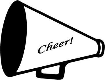 Standing cheer megaphone clipart jpg transparent 27+ Cheerleader Megaphone Clipart | ClipartLook jpg transparent