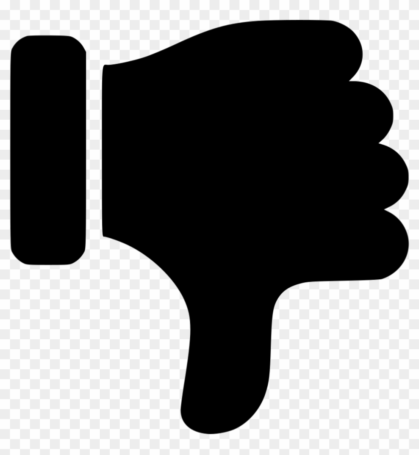Thumb down icon clipart image freeuse download Thumbs Down Comments - Thumbs Down Icon Png, Transparent Png ... image freeuse download
