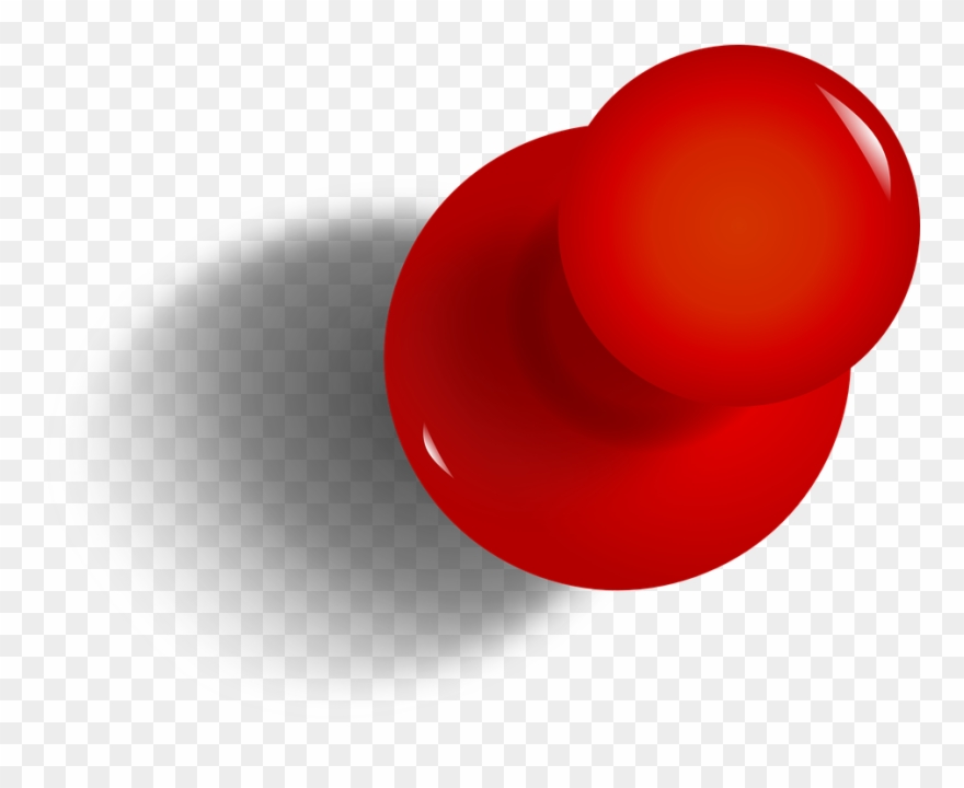 Thumb tacked note clipart png graphic freeuse download Drawing Pin, Tack, Thumbtack, Red, Office, Pushpin - Push ... graphic freeuse download