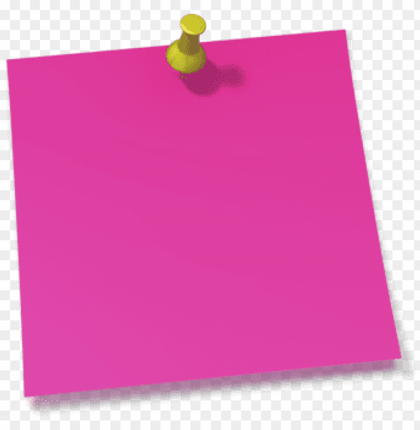 Thumb tacked note clipart png banner royalty free stock thumb tack clipart note pin - post it notes pink PNG image ... banner royalty free stock