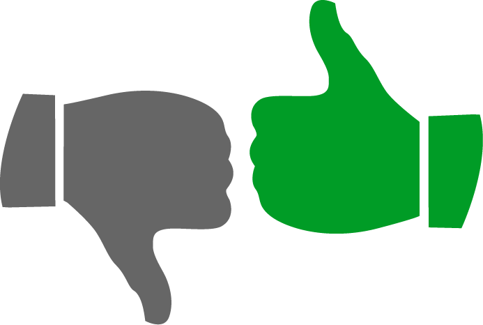 Thumbs down clipart png stock Thumbs Up Thumbs Down Clipart Many Interesting Cliparts png stock